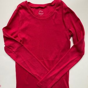 Winter/Summer Rasberry Knit Top